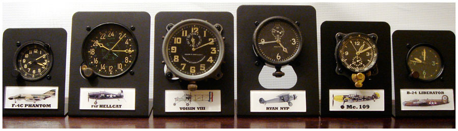 ORIGINAL COCKPIT CLOCKS
